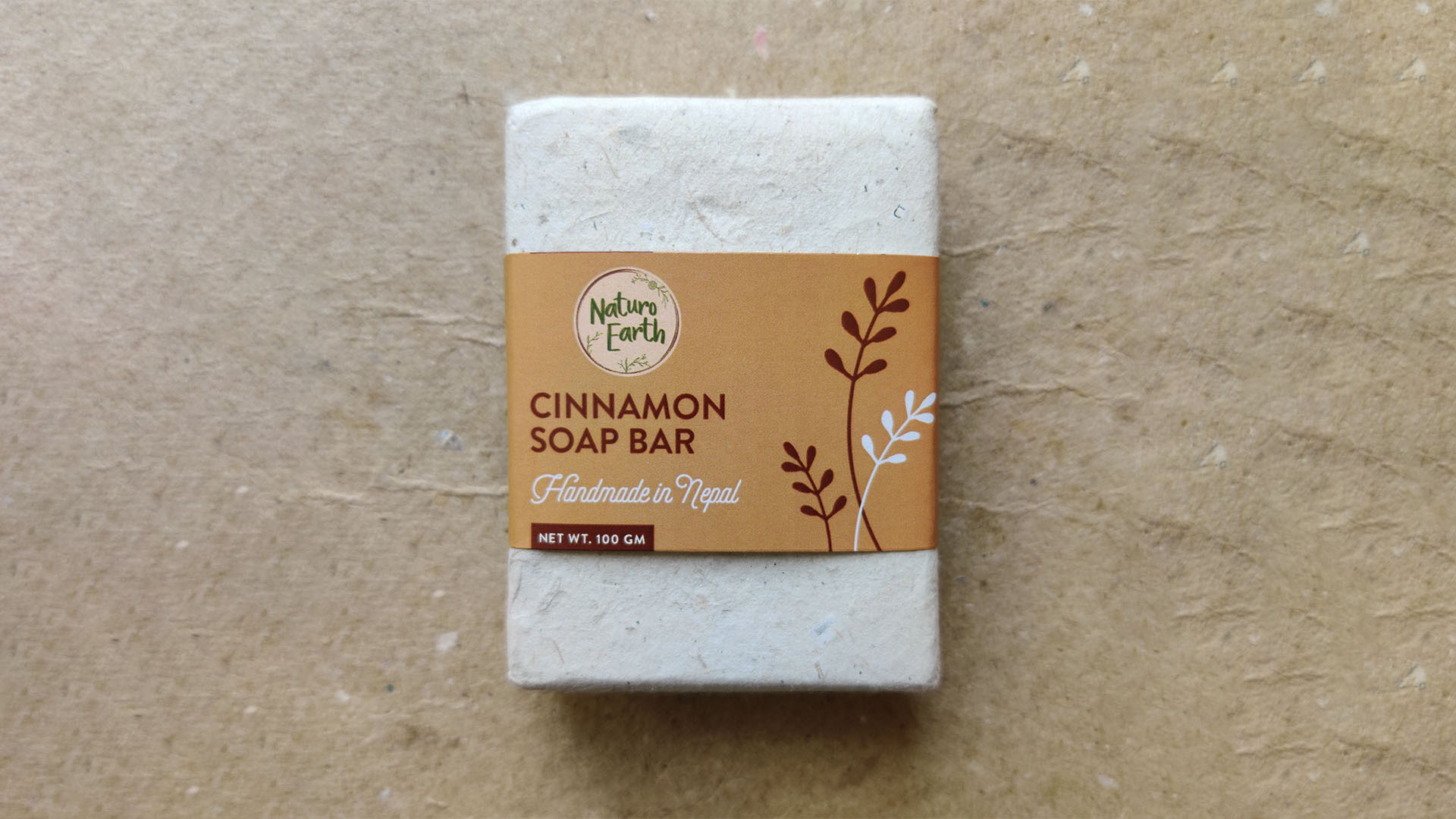 Cinnamon Soap Bar For Face And Body
