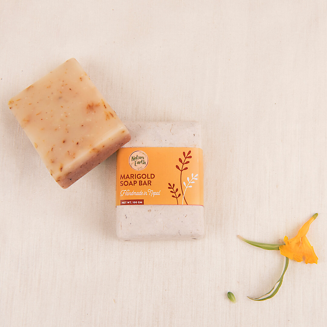 Marigold Soap Bar For Face And Body