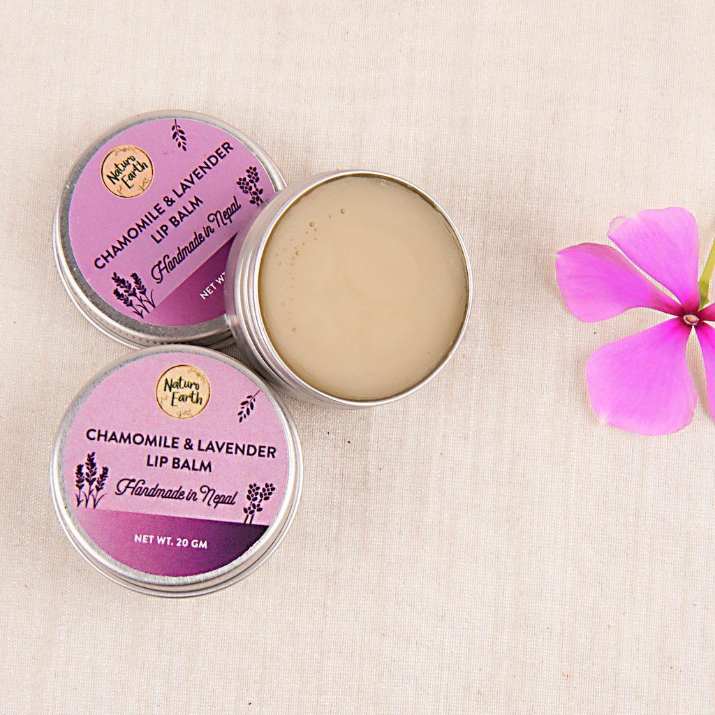 Chamomile & Lavender Lip Balm