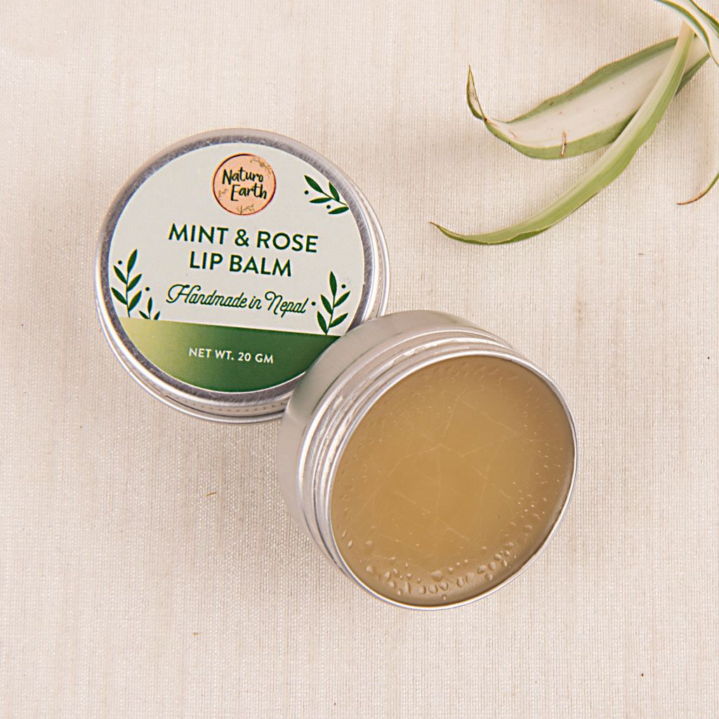 Mint & Rose Lip Balm