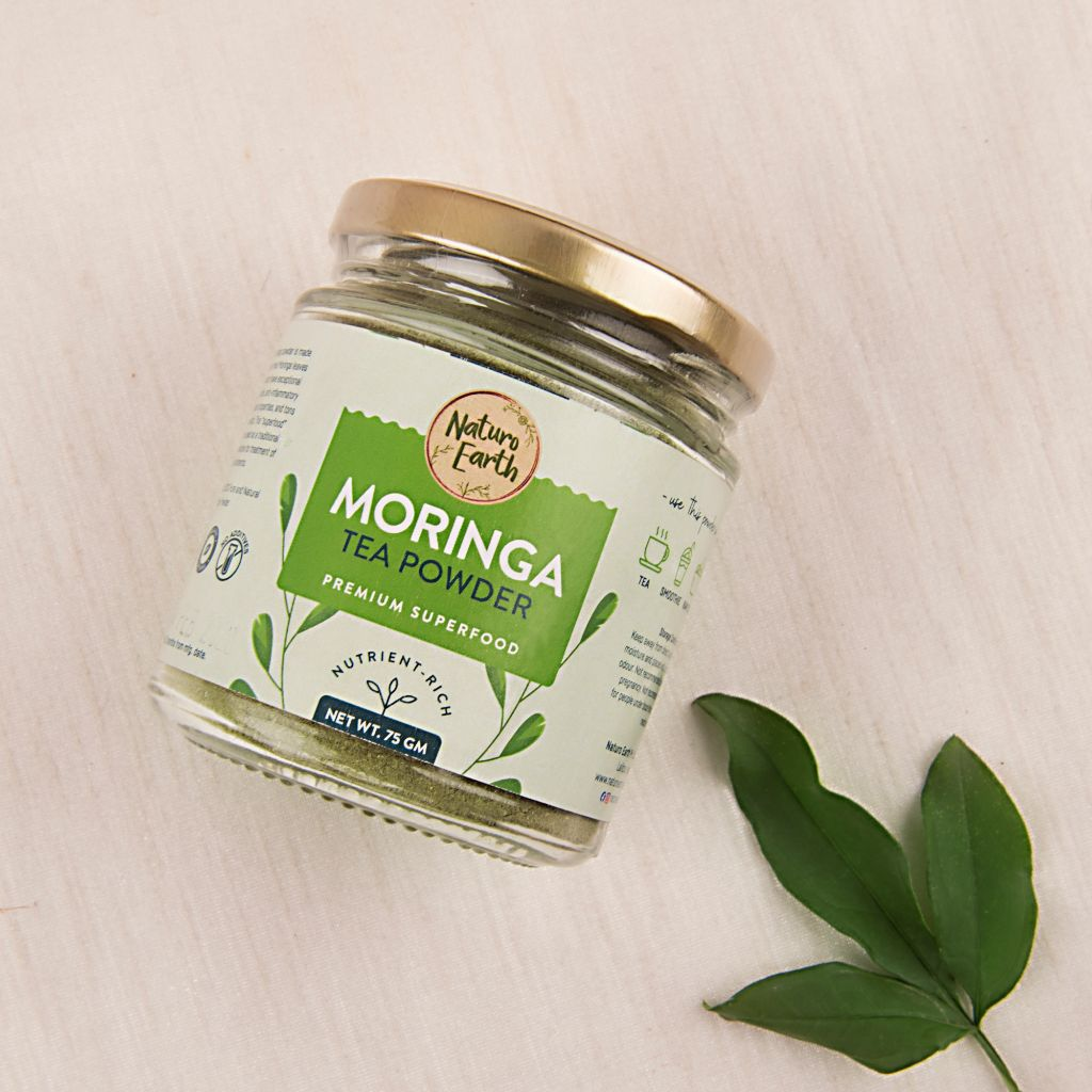 Moringa Tea Powder 75 Gm Jar
