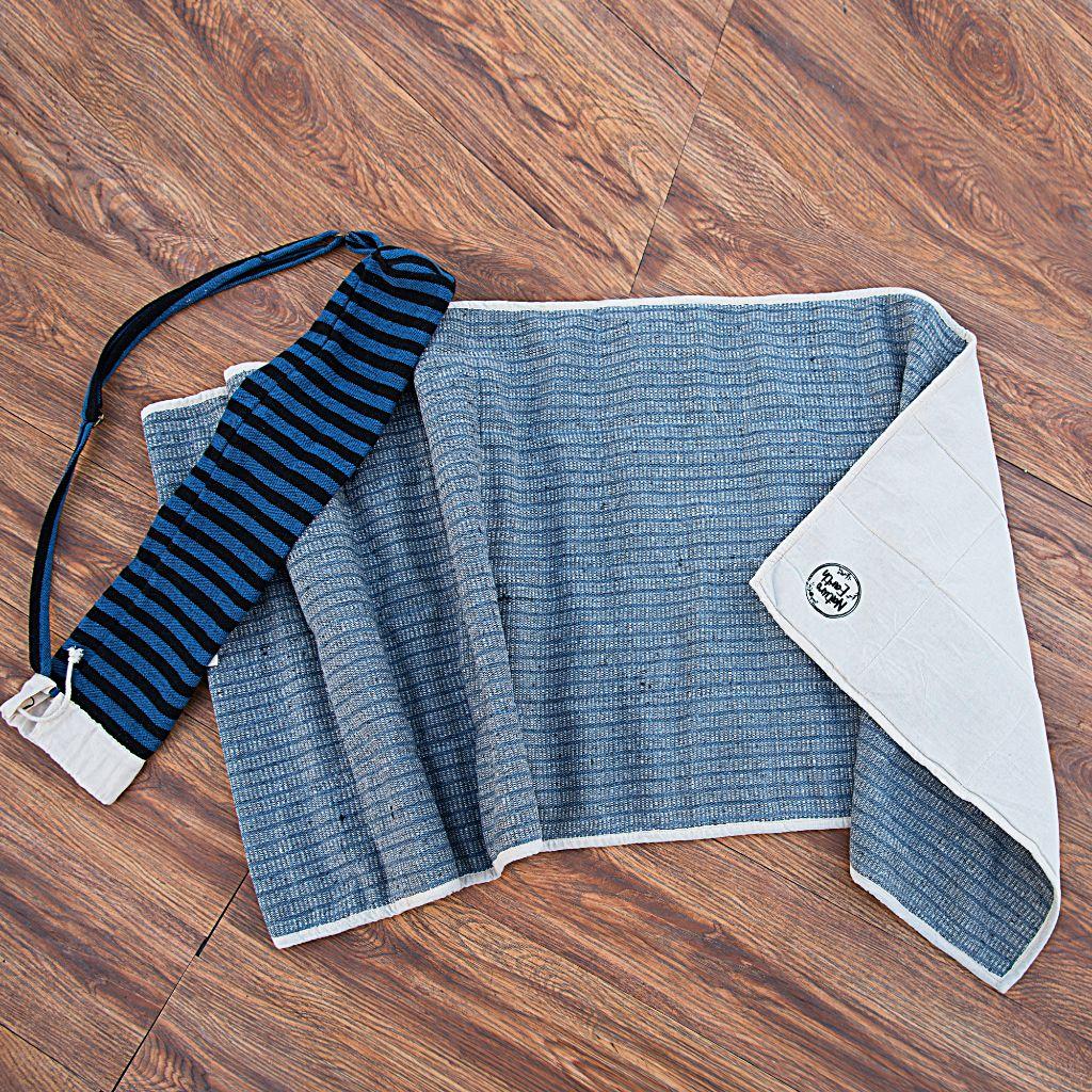 Organic Hemp Yoga Mat With Cover - Three Layer
