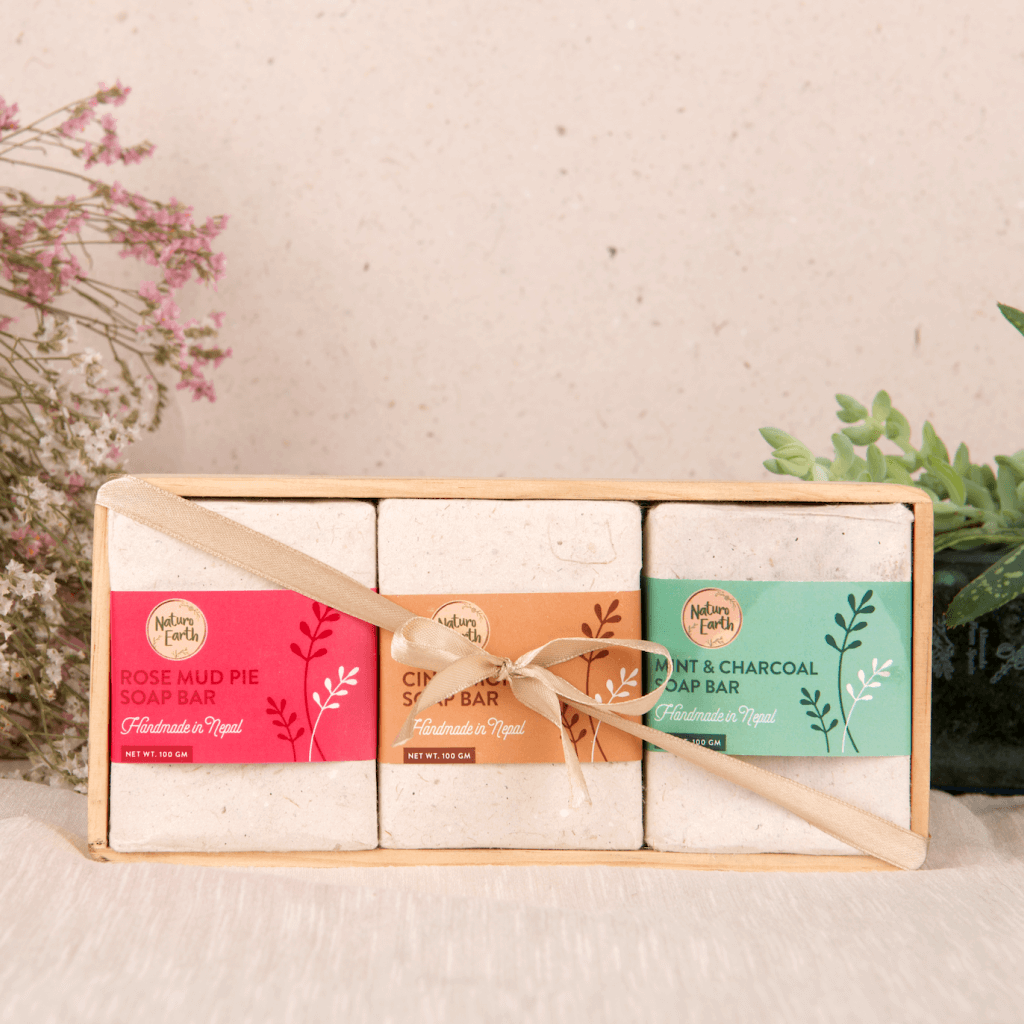 Organic Soap Set For Face and Body