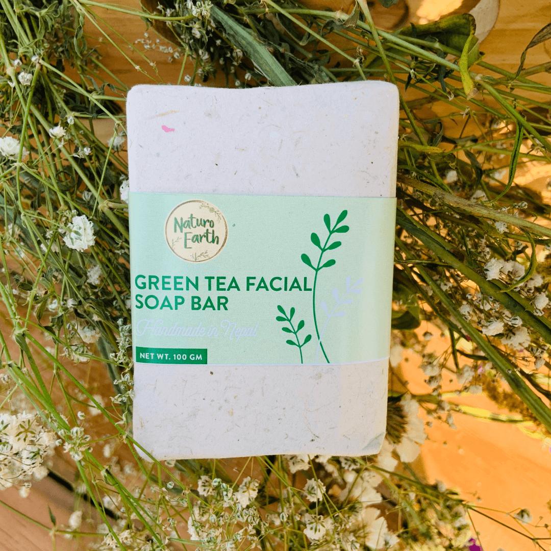 Green Tea Facial Soap